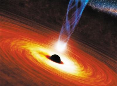 """黑洞""""食量""""变化使类星体快速消失"""