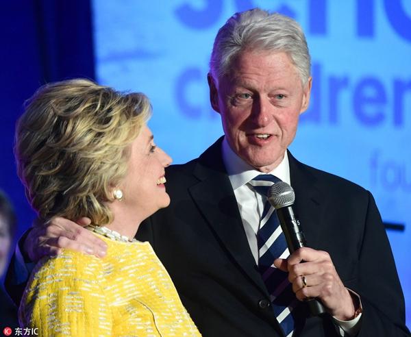 希拉里回应 克林顿出轨 为什么不离婚?(图)