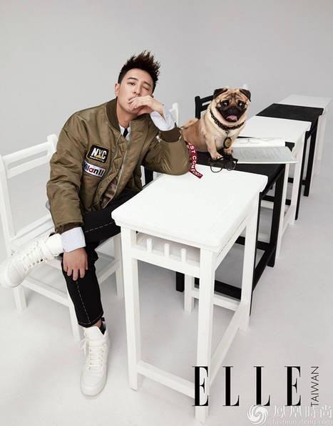潘玮柏登台湾版《ELLE》 尽显嘻哈本色时尚感MAX